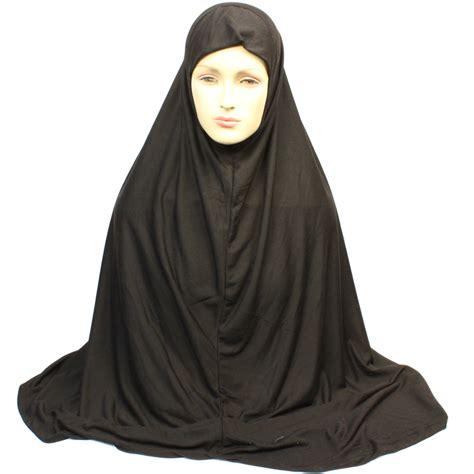 Khimar Arab one scarf khimar black simplyislam