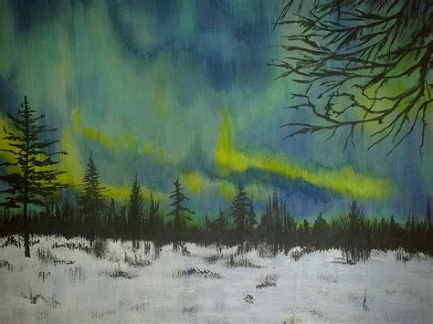northern lights painting for sale northern lights by irina astley