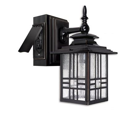 Outdoor Light With Outlet Wall Lights Design Awesome Outdoor Wall Light With Outlet Wall Light Fixture With Outlet Wall