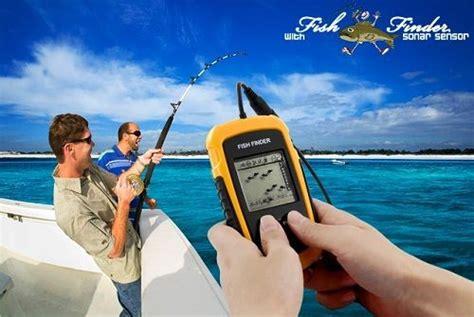 Alat Untuk Mengukur Panjang Ikan fish finder sonar sensor alat deteksi ikan untuk mancing
