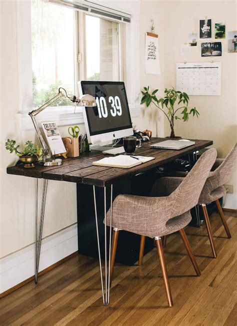 office space desk 15 nature inspired home office ideas for a stress free