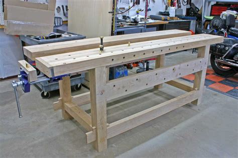garage bench designs woodworking jamrud popular 21st century workbench popular