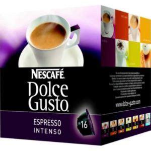 Nescafe Dolce Gusto Capsule Espresso Intenso 16s nescafe 16 capsules dolce gusto espresso intenso