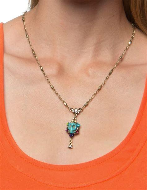 dia de los muertos jewelry day of the dead earrings orange day of the dead calavera skull necklace