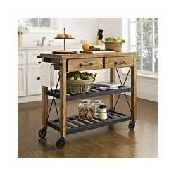 kitchen island cart rolling utility portable storage table cabinet ebay