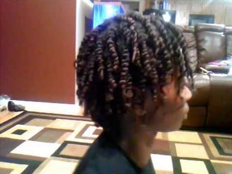 eco gel and teo strand hairstyles 2 strand twist with eco styler gel youtube