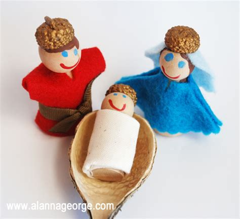 Halloween Crafts Easy - advent activity holy family figures
