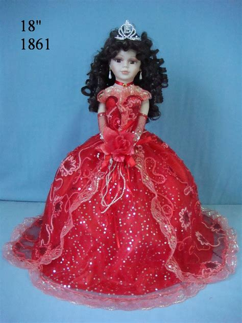 porcelain doll quince anos stunning 18 inch quince anos porcelain umbrella doll in