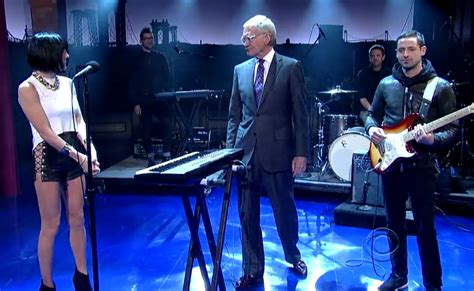 Who Doesnt To Flip Out phantogram performs on late show letterman doesn t