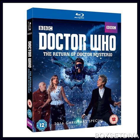 Novel Import Ny Times Best Seller Run Higgins doctor who the return of doctor mysterio 2016 special new ebay