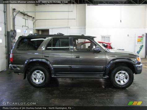 1998 Toyota 4runner Limited Specs 1998 Toyota 4runner Limited 4x4 In Anthracite Metallic
