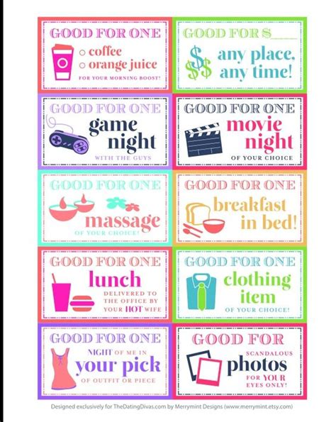 coupon books for husband templates pinterest the world s catalog of ideas