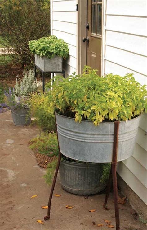 Large Garden Tubs And Planters Use Farm Antiques For Diy Home Projects Tools Grit