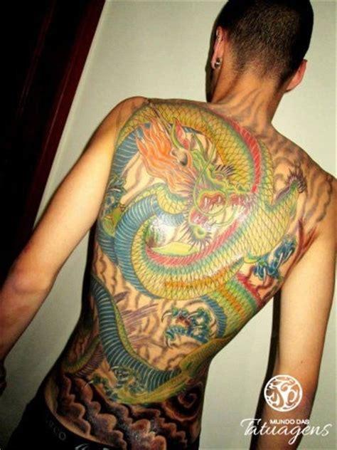tattoo dragão oriental costas drag 227 o nas costas foto 5151 mundo das tatuagens
