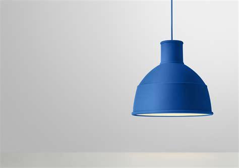 Unfold Pendant Blue By Muuto Unfold Pendant Light