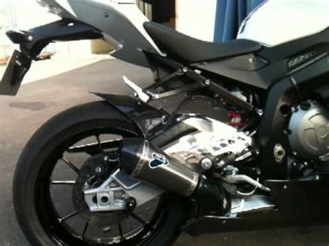best exhaust for bmw s1000rr bmw s1000rr termignoni exhaust sound