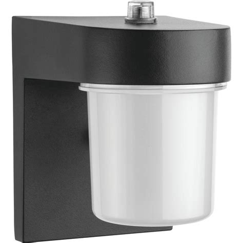 lithonia outdoor led lighting lithonia lighting jelly jar black outdoor led entry light