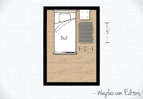 Rug Size For Bedroom by Bedroom Rug Size For The Home