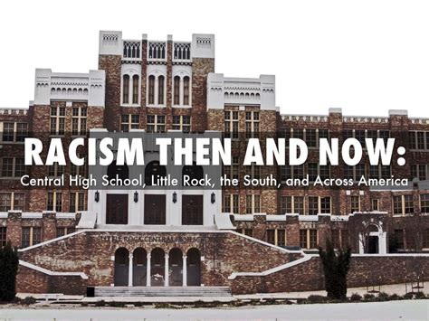 Then Vs Now Essay by Racism Then And Now Essay