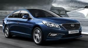 Hyundai Sonata 2015 Blue 2016 Hyundai Sonata Blue