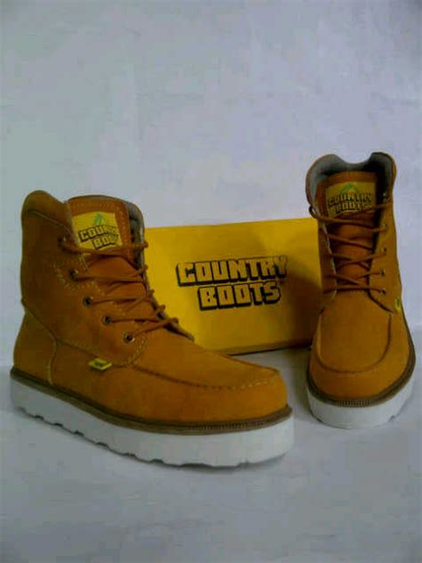 Sepatu Country Boot Safety 01 sepatu boots country safety keren safety boots
