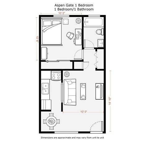 Small 1 Bedroom House Plans Modern Style Home Design Ideas