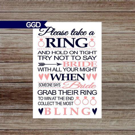 printable bridal shower ring game instant download bridal shower game ring game printable