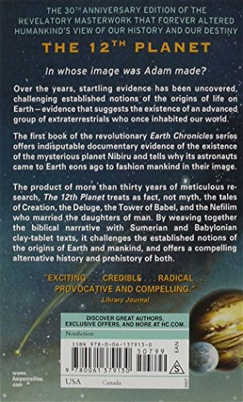 the 12th planet earth chronicles series book 1 books 1 twelfth planet book i of the earth chronicles the