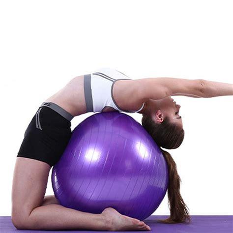 imagenes de gimnasia yoga 35cm yoga ball exercise gymnastic fitness pilates ball
