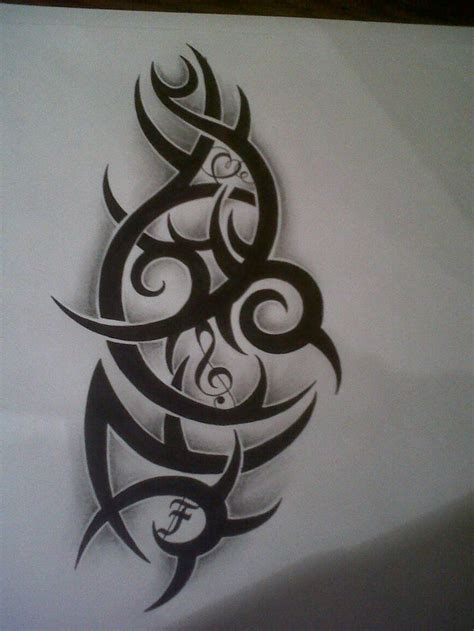 tribal music note tattoo 874 best tattoos images on polynesian tattoos