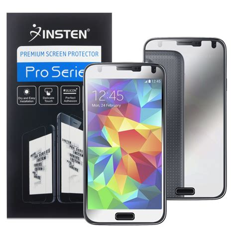 Screen Protector Samsung Galaxy S5 Sm G900 Anti Gores Screen Guard insten 1791667 mirror screen protector compatible with