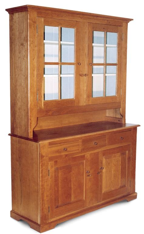 Hutch Email Shaker Style Hutch Finewoodworking