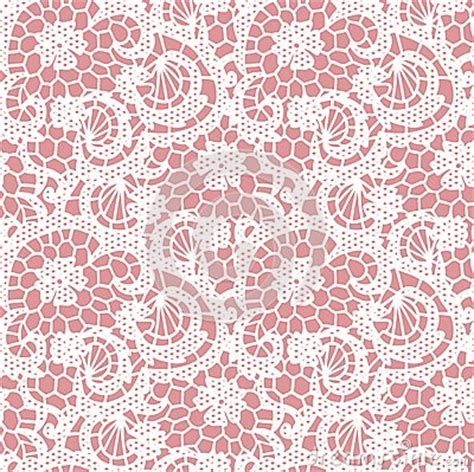 pink lace pattern lace seamless pattern with flowers stock images image
