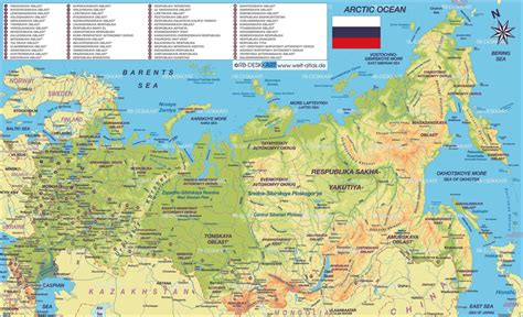 map of big big map of russia mapsof net