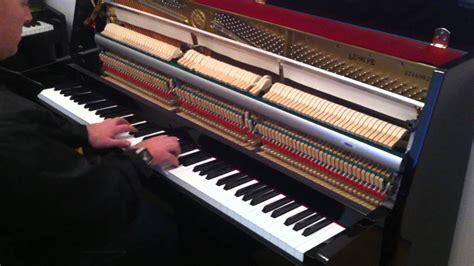 tutorial piano yamaha yamaha lu90 pe upright piano demonstrated by sherwood