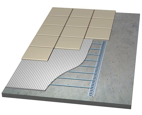 laticrete heated floor gurus floor