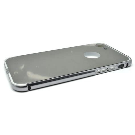 Aluminium Bumper With Mirror Back Cover For Iphone 5c Murah 1 aluminium bumper with mirror back cover for iphone 7 8