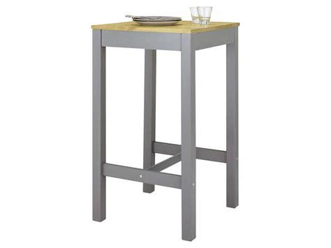 table 60x60 cuisine table haute 60x60 cm bruges coloris gris ch 234 ne vente de