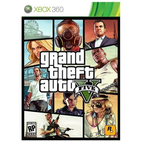 Grand Theft Auto 5 Xbox 360 by Grand Theft Auto V Xbox 360 No Paraguai