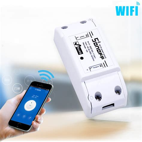 Wifi Smart newest wifi wireless smart switch intelligent diy remote wifi switch 10a 2200w timer