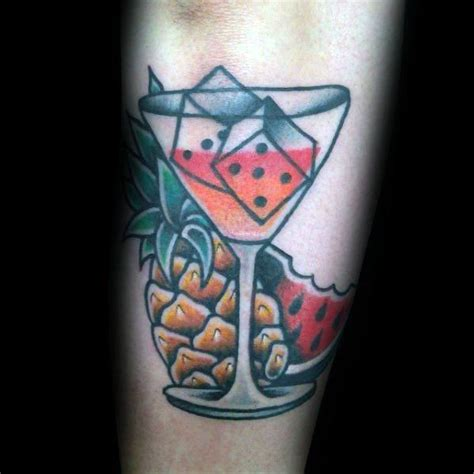 cocktail tattoo designs 40 martini glass ideas for cocktail designs