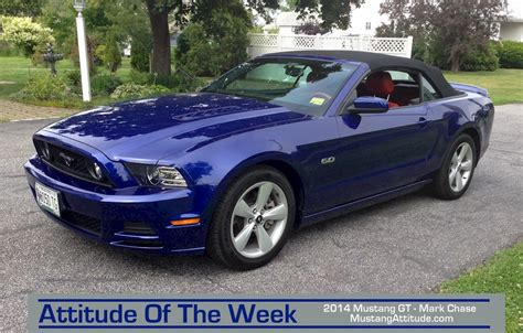 impact blue 2014 ford mustang gt convertible