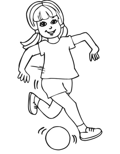 cute little girl coloring page 24229 bestofcoloring com