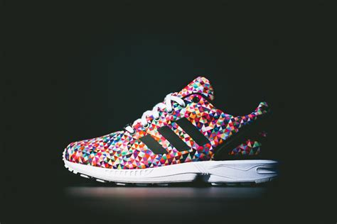 colored adidas adidas zx flux quot multi color quot available sneakernews