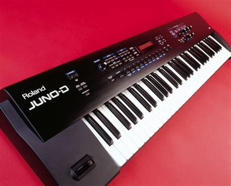Keyboard Roland Juno D no limit sound productions roland juno d