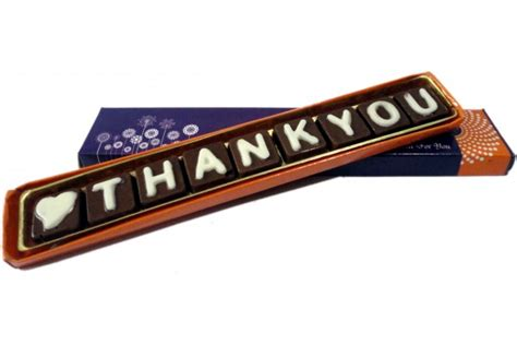 thank you letter chocolate gift thank you letter chocolate gift 28 images chocolate