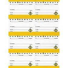 cub scout award card template 1203 best images about cub scouts on scouts