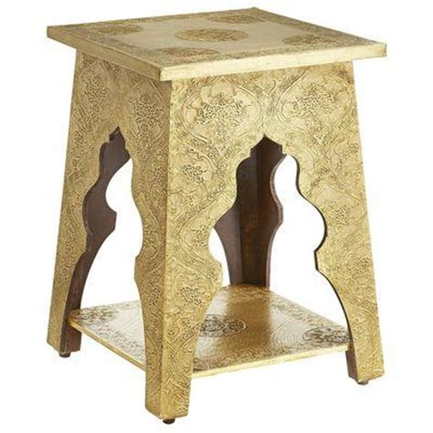 pier one accent tables marrakesh accent table brass i pier one