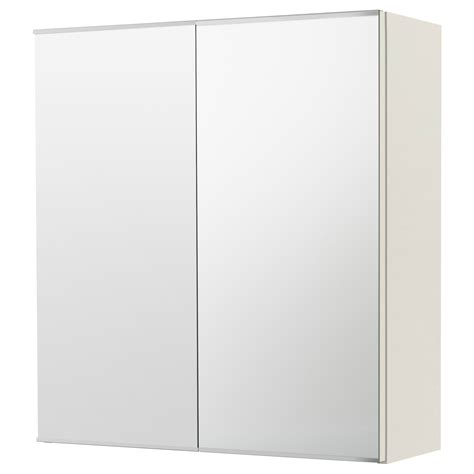 Lill 197 Ngen Mirror Cabinet With 2 Doors White 60x21x64 Cm Ikea Ikea Bathroom Mirror