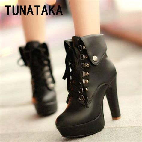Sandal Wanita Bali Platform Sandal Black Hitam Ndx faux leather ankle boots designer fashion platform chunky high heels lace up booties